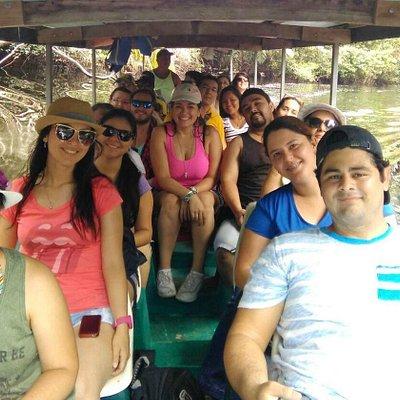 De tour en Tortuguero