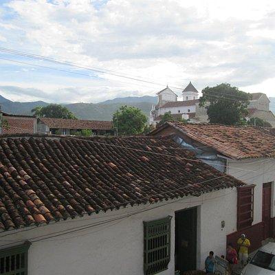 vista  exterior desde el balcon