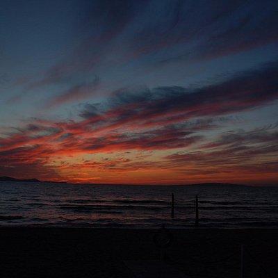 tramonto ore 19.45