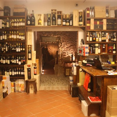 Cantina del Brunello Wine shop