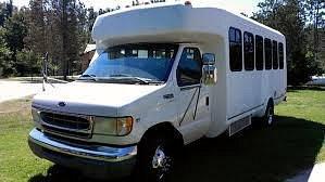 The 13 passenger van