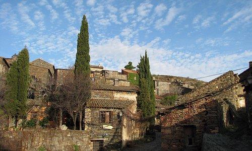 Vista del pueblo de Patones de Arriba