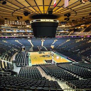 Coração do Madison Square Garden!