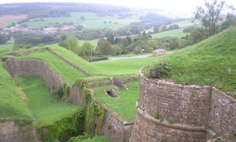 uitzicht over citadel