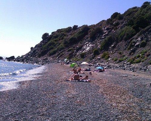 La spiaggia delle Tombe