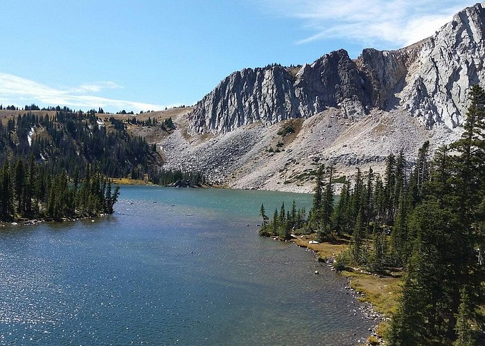 Medicine Bow Peak and Lake Marie