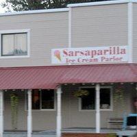 The Sarsaparilla Ice Cream Parlor, Main Street, Idaho City, Idaho
