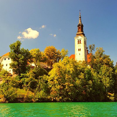Bled, Island - The Church of the Assumption