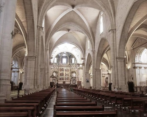 Inside the Cathedral, Valencia