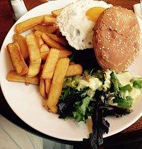 Bistrot de la Place- Bacon Burger