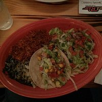 Taco and Tostada Combination Platter