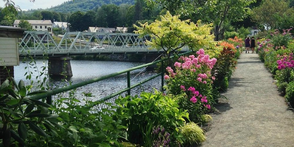 Bridge of Flowers, Shelburne Falls