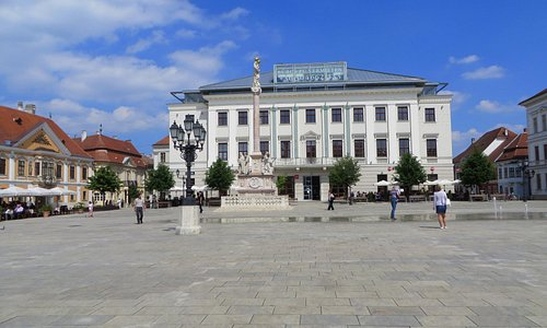 Main Square of Gyor