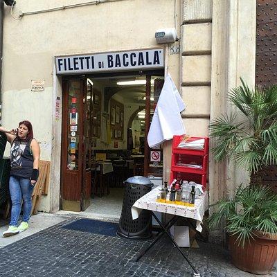 The Roman Foodie - Filleti di Baccala