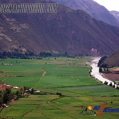 El Valle sagrado, con el cusco fueron el centro del universo inca, su clima, sus excelentes tier