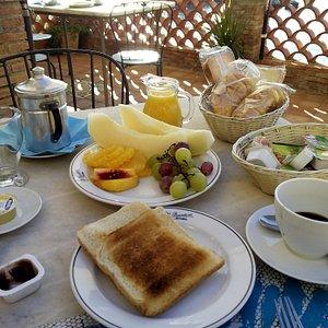 veranda colazione 2°giorno