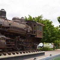 la locomotora de Los Mochis