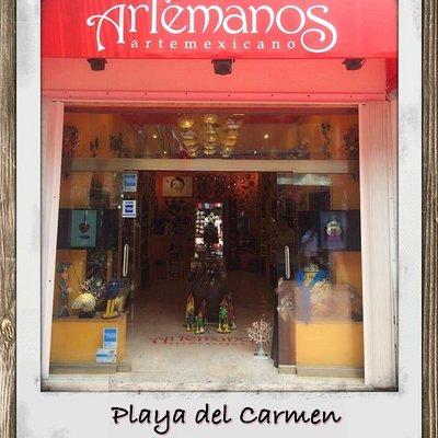 En la QUinta Avenida de Playa del Carmen