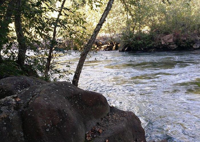 Ocoee River at Thunder Rock Campground