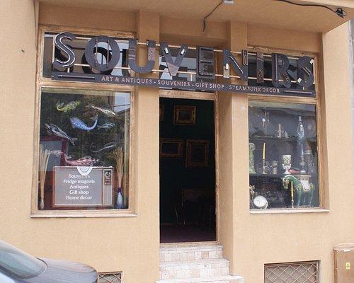 Store façade.