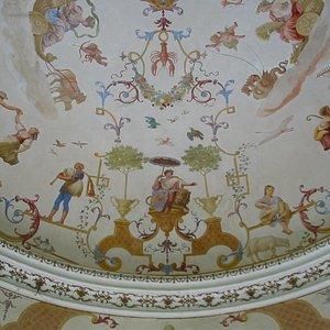 Barock Pavillion Obersiebenbrunn Fresken