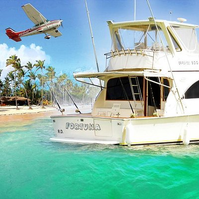 Private Yacht Fortuna for private fishing charter
