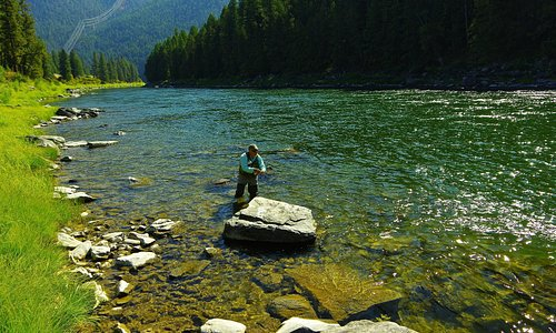 Flyfishing on the Clark Fork River