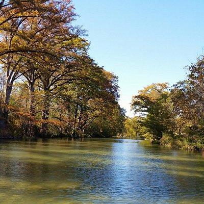 Blanco River in Wimberley, TX.