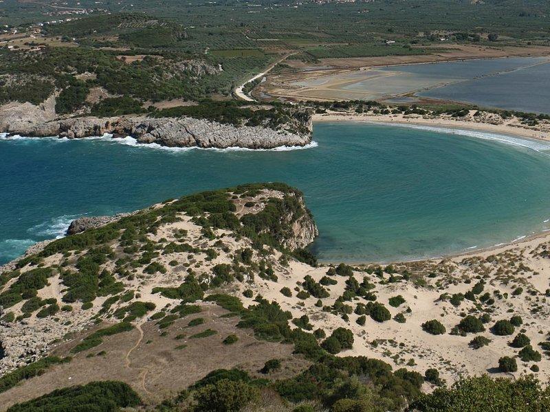 Voidokilia beach