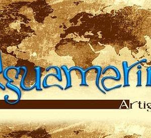 Insegna e logo Aguamarina