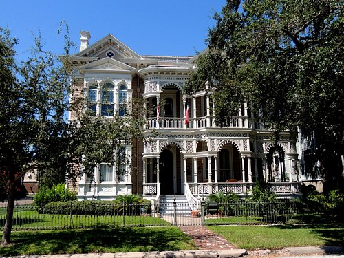 House in East End Historical District, Galveston, Texas