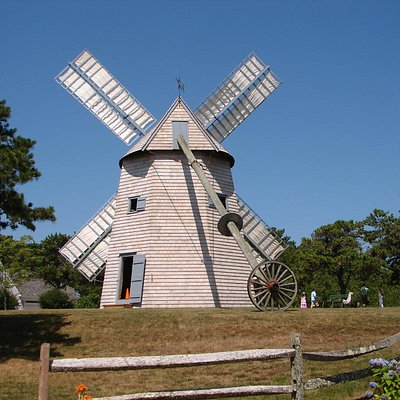 The Chatham Windmill/Godfrey Windmill in Chase Park (off Shattuck Place), Chatham, MA