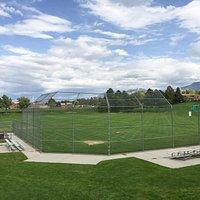 Large Covered Pavillion, baseball
