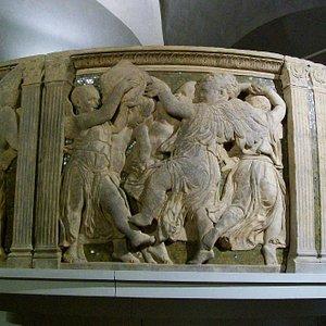 parapetto del pulpito di Donatello