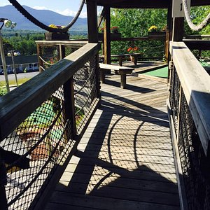 Loved this mini golf course while up in the white mountains. This was a fun course with an amazi