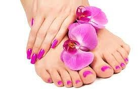 Manicures an Pedicures done here at Heaven's