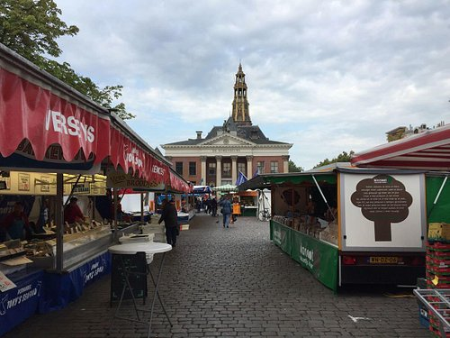 View of the Der-Aa chruch from the Fish market