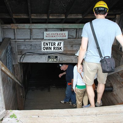 Entrance to mine
