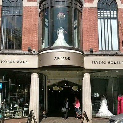 Flying Horse Walk Arcade