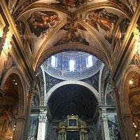 Iglesia del Patriarca - Frescos de Matarana