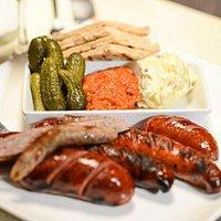 Provincial sausage platter
