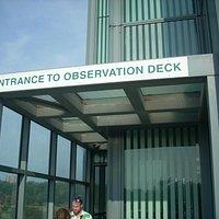 Entrada al observatorio