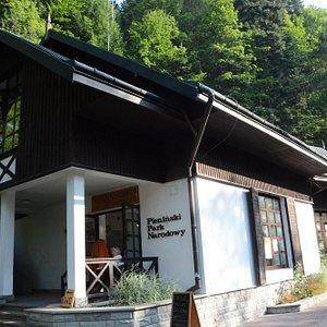 Pavilion in Szczawnica