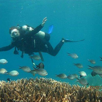 Keep good boyancy to protect aquatic life