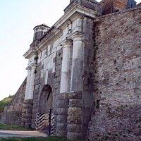 Esterno Bastioni Fortezza PALMANOVA (Porta Cividale) 12settembre2015.