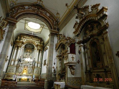 Внутренний интерьер церкви Св. Себастьяна