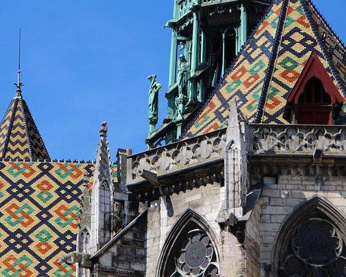 extérieur, cathédrale Dijon