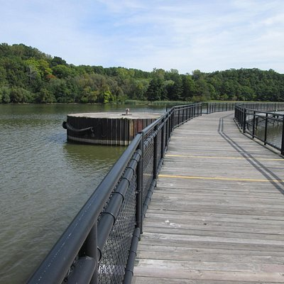 part of Genesee Riverway walking & biking Trail