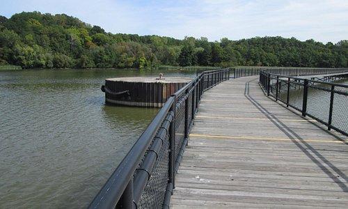 part of Genesee Riverway walking & biking Trail