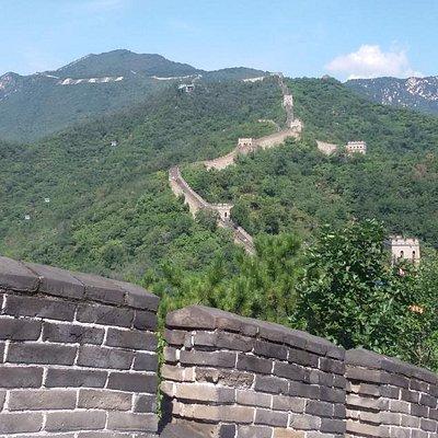 The beautiful Mutianyu Great Wall